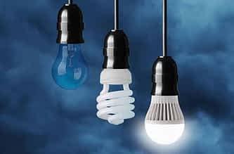Lampadas econômicas impactam conta de luz.