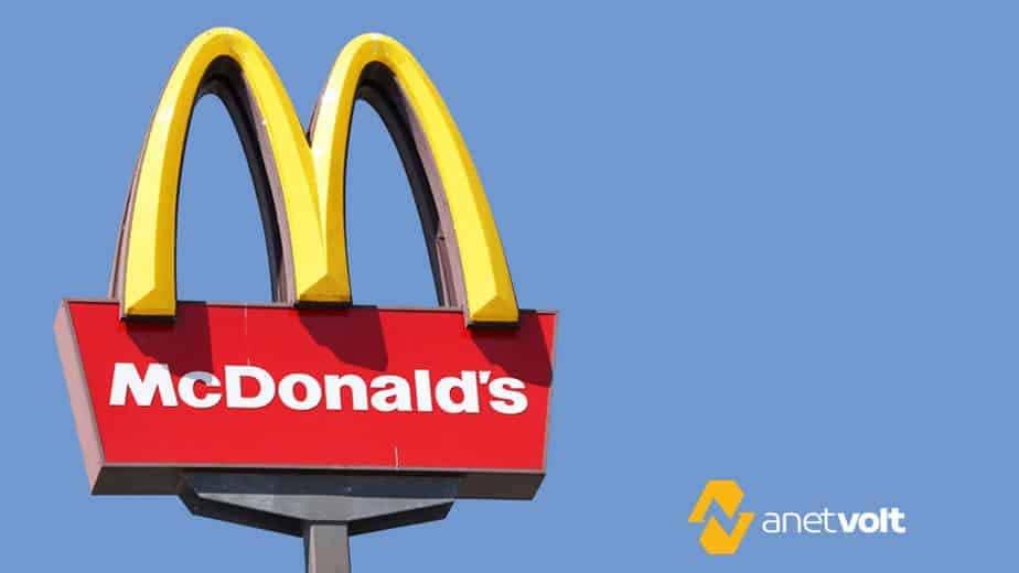 Curiosidades sobre energia solar: o caso do McDonald's