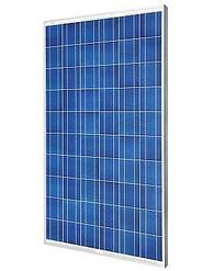 Placa solar fotovoltaico policristalino.