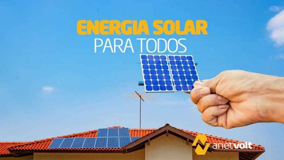 Financiamento de Energia Solar: porque comprar o seu sistema agora